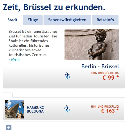 Brussels Airlines Angebote
