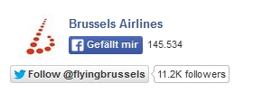 Brussels Airlines Social Media