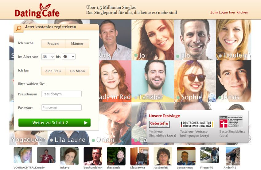 dating cafe kosten partner.de kündigen