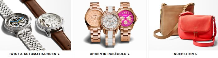 Fossil Angebot